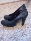 Туфли кожаные б/у. Фото 2.