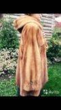 Шикарная норковая шуба свингер nafa mink италия. Фото 2.