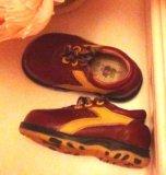 """Кожаные ботиночки """"шалунишка"""". Фото 1."""
