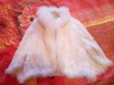Накидка свадебная, вязаная норка. Фото 1.