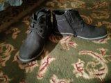 Ботинки зимние новые синего цвета. Фото 4.
