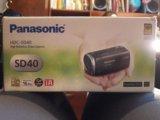 Цифровая камера panasonic hdc-sd40. Фото 1.