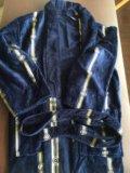 Махровый халат длинный. из турции. размер48-52. Фото 2.