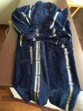 Махровый халат длинный. из турции. размер48-52. Фото 3.