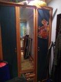 Шкаф трехств-й продам или поменяю на 2 сп.кровать. Фото 1.