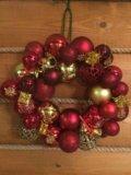 Рождественские венки. Фото 1.