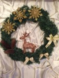 Рождественский венок. Фото 1.
