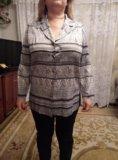 Шелковая кофта-пиджак. Фото 1.