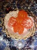 Новогодние мыльные мандаринки. Фото 1.