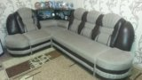 Угловой диван кровать. Фото 1.