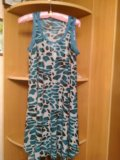 Платье трапеция стрейч. Фото 1.