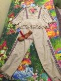 Новогодний костюм индеец. Фото 3.