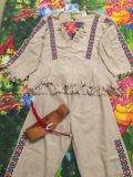 Новогодний костюм индеец. Фото 2.