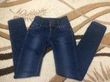 Тёплые джинсы. Фото 1.
