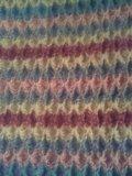 Мохеровый жилет,  мохер/шерсть, ручная вязка. Фото 3.