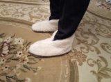 Домашняя обувь из овчины. Фото 2.