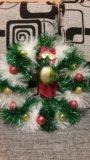 Новогодние и рождественские веночки. Фото 4.
