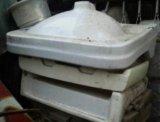 Керамическая раковина. Фото 1.