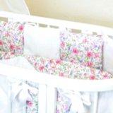 Бортики-подушки в кроватку. Фото 1.