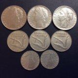 Итальянские монеты. Фото 2.