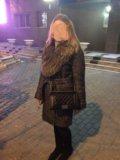 Зимнее пальто с натуральным мехом 👌🏻. Фото 1.