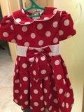 Платье 👗 для девочки нарядное. Фото 1.