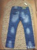 Мужские новые джинсы. Фото 2.