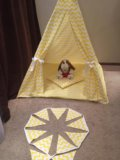 Палатка вигвам. Фото 1.