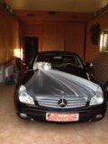 Свадебные украшения на машины. Фото 1.