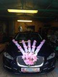 Свадебные украшения на машины. Фото 2.