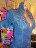 Платье джинсовка. Фото 3.