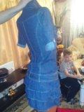 Платье джинсовка. Фото 4.