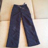 Болоневые зимние штаны для девочки 8-10 лет. Фото 1.