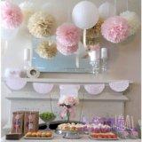 Помпоны и бумажные шары. Фото 1.