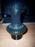 Ваза для экебаны и зеленая вазочка. Фото 1.
