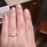 Кольцо золотое 585. Фото 4.