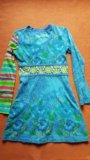 Нарядное платье для девочки, 7-8 лет. Фото 2.