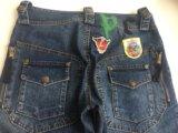 Укорочённые джинсы-бриджи. Фото 3.