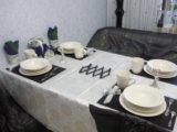 Скатерть кухонная бу. Фото 1.