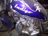 Мотоцикл indigo. Фото 1.