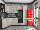 Кухня мдф снежный белый. Фото 2.