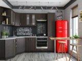Кухня мдф снежный белый. Фото 3.