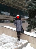 Пуховик зима. Фото 1.