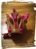 Новогодняя мини корона - ручная работа. Фото 1.