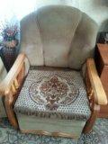Диван и 2 кресла-кровати. Фото 1.