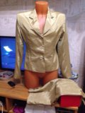 Костюм пиджак + юбка. Фото 1.