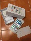 Iphone 5s (32gb) silver. Фото 1.