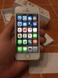 Iphone 5s (32gb) silver. Фото 3.