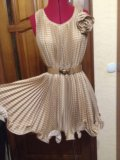Шелковое платье. Фото 1.