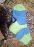 Носки вязаные, шерсть. Фото 1.